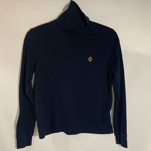 RALPH LAUREN navy blue turtleneck